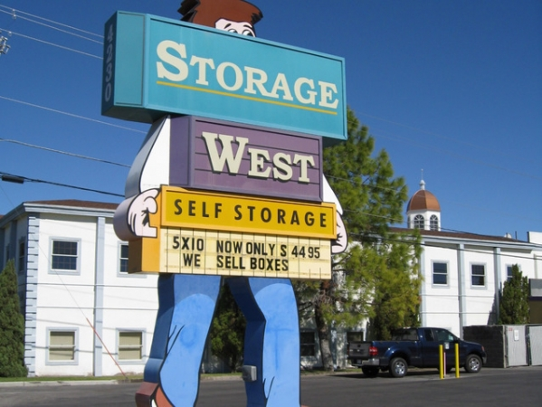 Storage West - Pecos Road - Photo 1