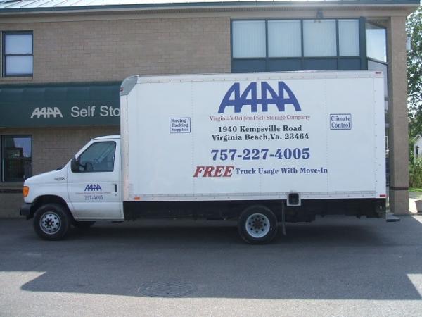 AAAA Self Storage & Moving - Virginia Beach - Kempsville Rd. - Photo 2