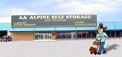 AA Alpine Storage - 1st St. - Abilene - Photo 4