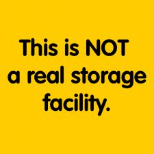Not Real Storage Facility