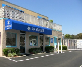 San Diego self storage from SD Storage - Pacific Beach Self Storage