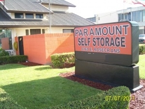 Los Angeles self storage from Paramount Self Storage