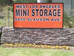 Inglewood self storage from West LA Mini Storage
