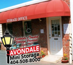 Atlanta self storage from Avondale Mini Storage