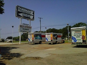 Flint self storage from Landmark Storage