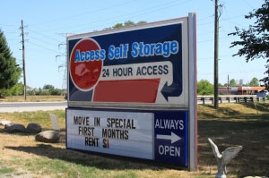 Brownsburg self storage from Access Self Storage - Rockville Road