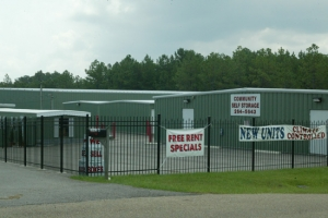 Hattiesburg self storage from Community Self Storage Oak Grove