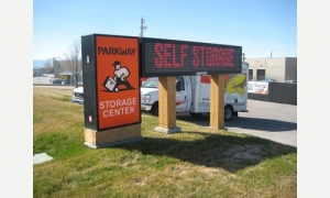 Lehi self storage from Parkway Storage Center