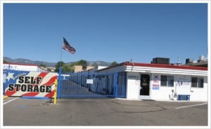 Albuquerque self storage from American Self Storage- San Mateo