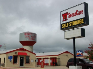 Midwest City self storage from SecurCare Self Storage - Midwest City - SE 29th St
