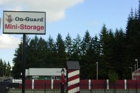 Olympia self storage from On Guard Mini Storage - Olympia