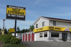Tacoma self storage from Orchard Street Self Storage