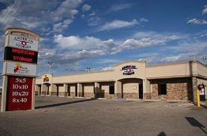 Amarillo self storage from American Storage