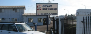 Eugene self storage from Highway 99 Self Storage