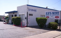 Glendale self storage from Ezy Way Mini Storage