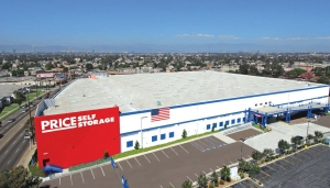 Los Angeles self storage from Price Self Storage West LA