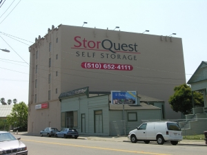 Berkeley self storage from StorQuest Self Storage - Oakland