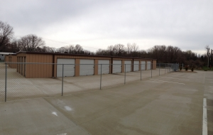 Clarksville self storage from CG Storage
