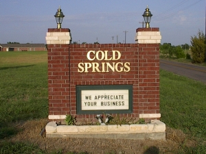 Van Alstyne self storage from Cold Springs Self Storage