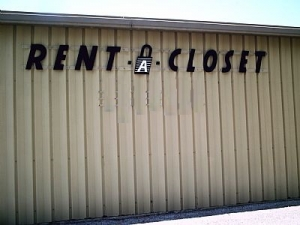 St Petersburg self storage from Rent A Closet - Pinellas Park