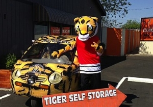 Sacramento self storage from Tiger Self Storage #1