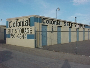 Lubbock self storage from Colonial Self Storage