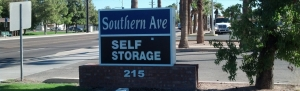 Chandler self storage from Southern Avenue Self Storage