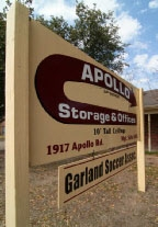Garland self storage from Apollo Storage & Offices