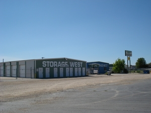Nampa self storage from Storage West