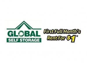 Goose Creek self storage from Global Self Storage - Old Trolley Rd.