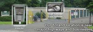 Enfield self storage from Tolland Storage Center