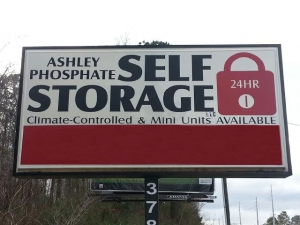 Charleston self storage from Ashley Phosphate Self Storage