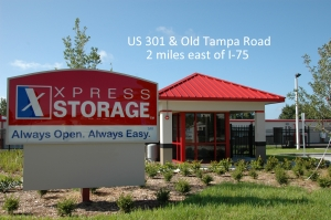 Sarasota self storage from Xpress Storage - Parrish