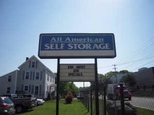 Falmouth self storage from All American Self Storage - Westbrook