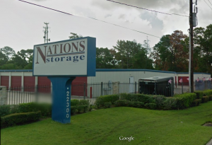 Tomball self storage from Nations Storage