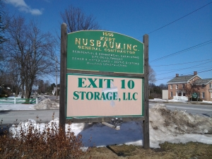 Cohoes self storage from Exit 10 Self-Storage
