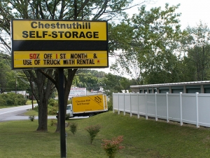 East Stroudsburg self storage from Chestnuthill Self Storage