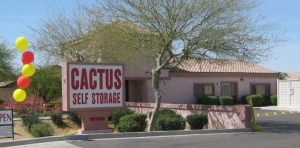 Sun City self storage from Cactus Self Storage