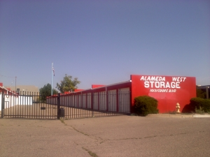 Rio Rancho self storage from Alameda West Storage
