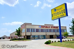 Keller self storage from Republic Self Storage