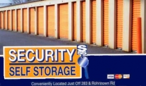 Lancaster self storage from Security Self Storage