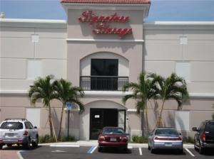 Delray Beach self storage from Signature Self Storage