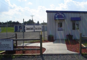 Utica self storage from Big Blue Self Storage