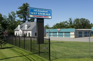 Salem self storage from All American Self Storage - Methuen