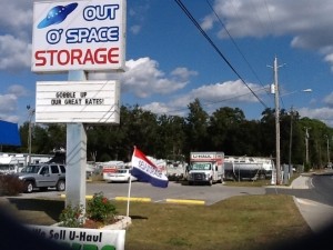Pensacola self storage from Out O' Space Storage - Pensacola