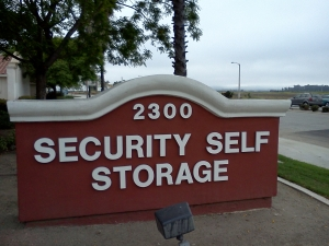 Ventura self storage from Security Self Storage