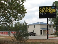 Montgomery self storage from AAA Storage Hwy 75