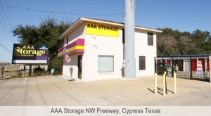 AAA Storage NW Freeway