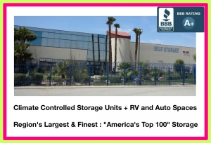 Sun Valley Climate-Controlled Self Storage + Auto & R.V. Spaces