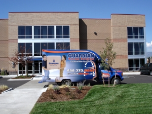 Golden self storage from Guardian Storage | Westminster